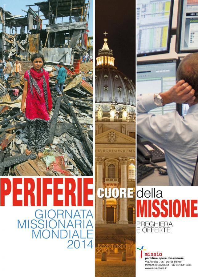 manifesto giornata missionaria mondiale