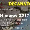 Decanato Valle Olona 25^ Giornata di preghiera e digiuno in memoria dei missionari martiri