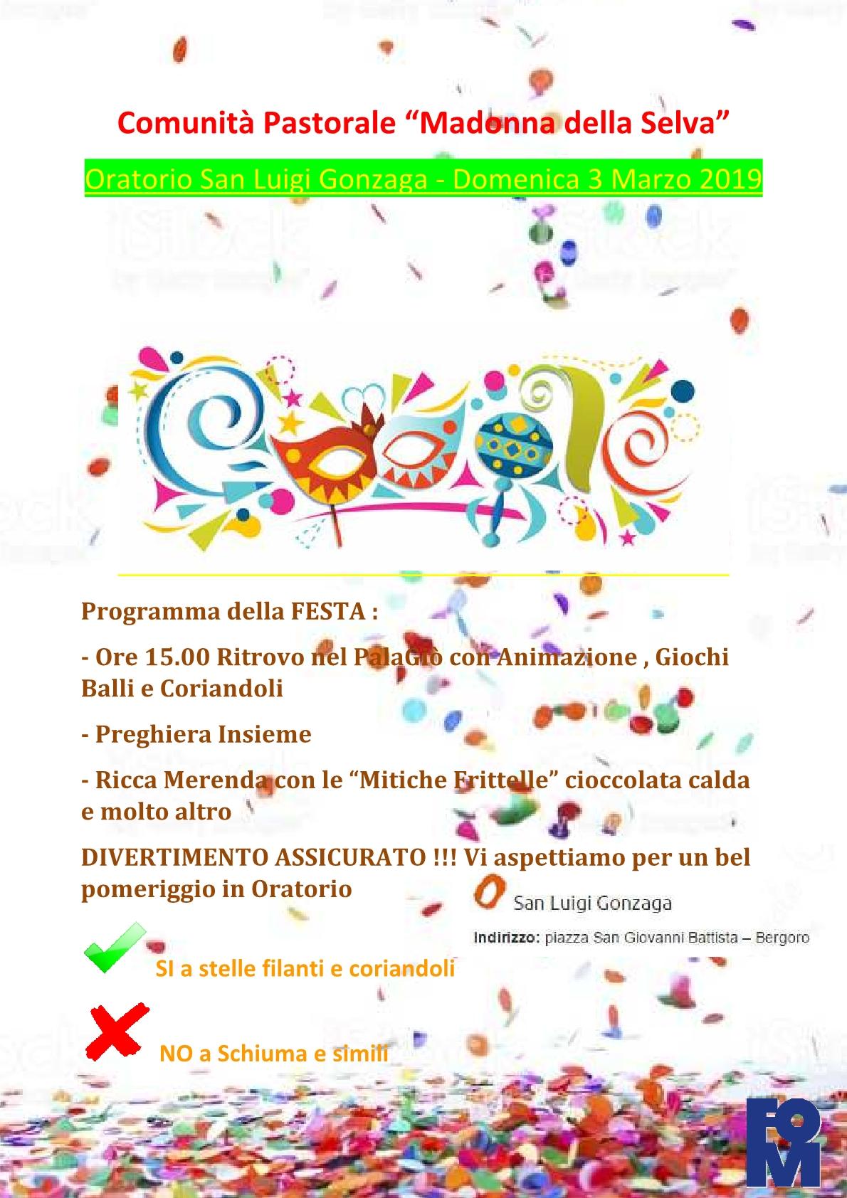 Carnevale 2019 free1