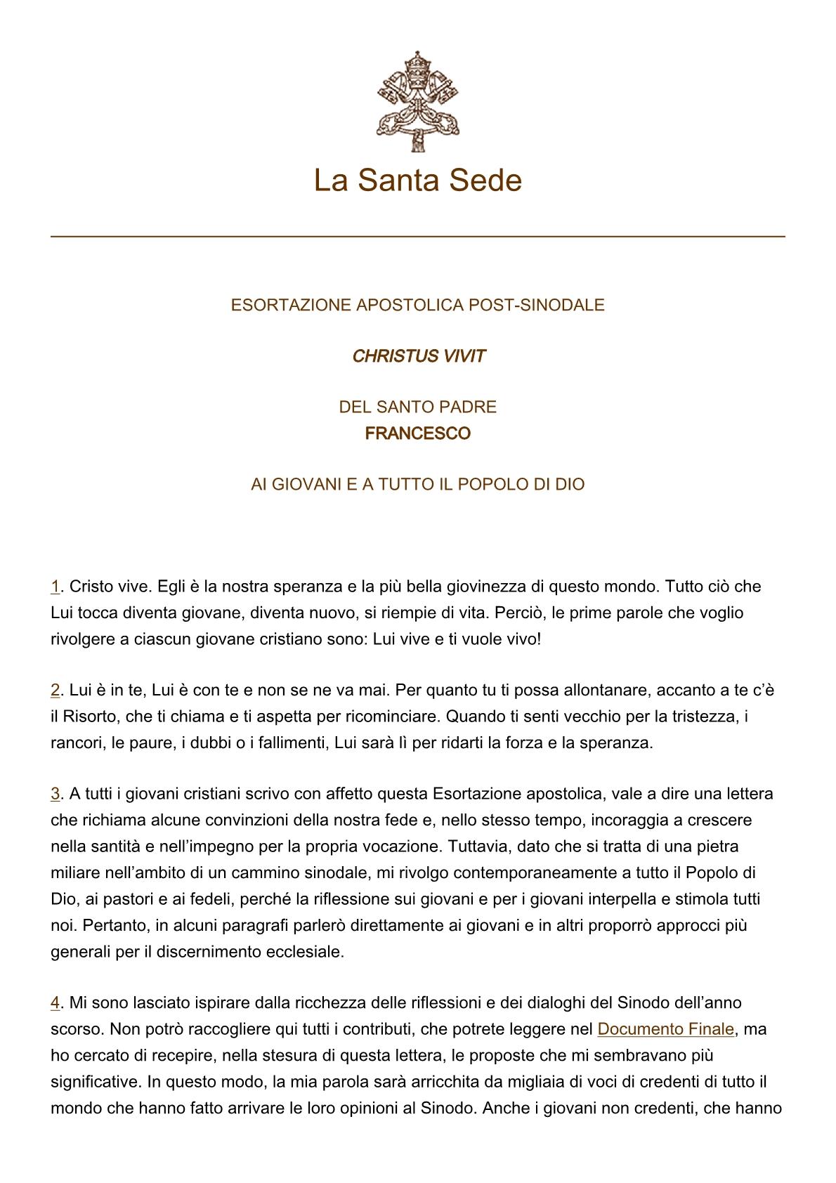 papa-francesco_esortazione-ap_20190325_christus-vivit1