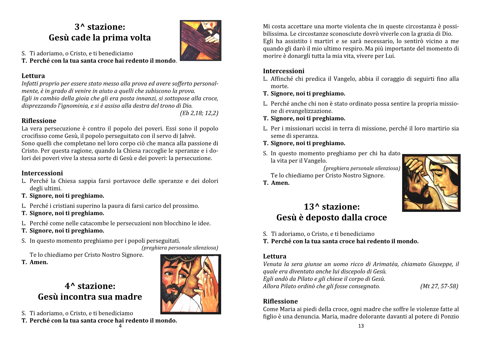 Via Crucis - III ven quar 2020 - martiri4