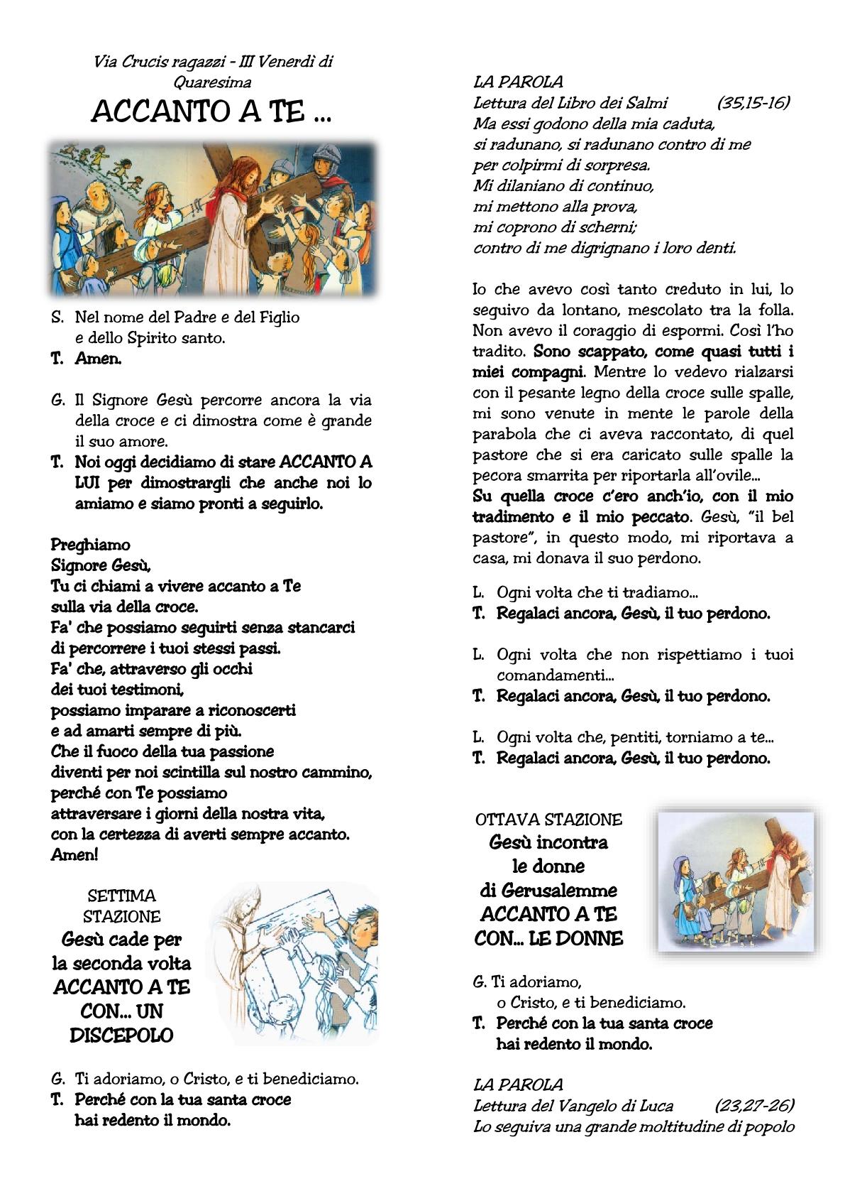 Via Crucis raga III venerdì1