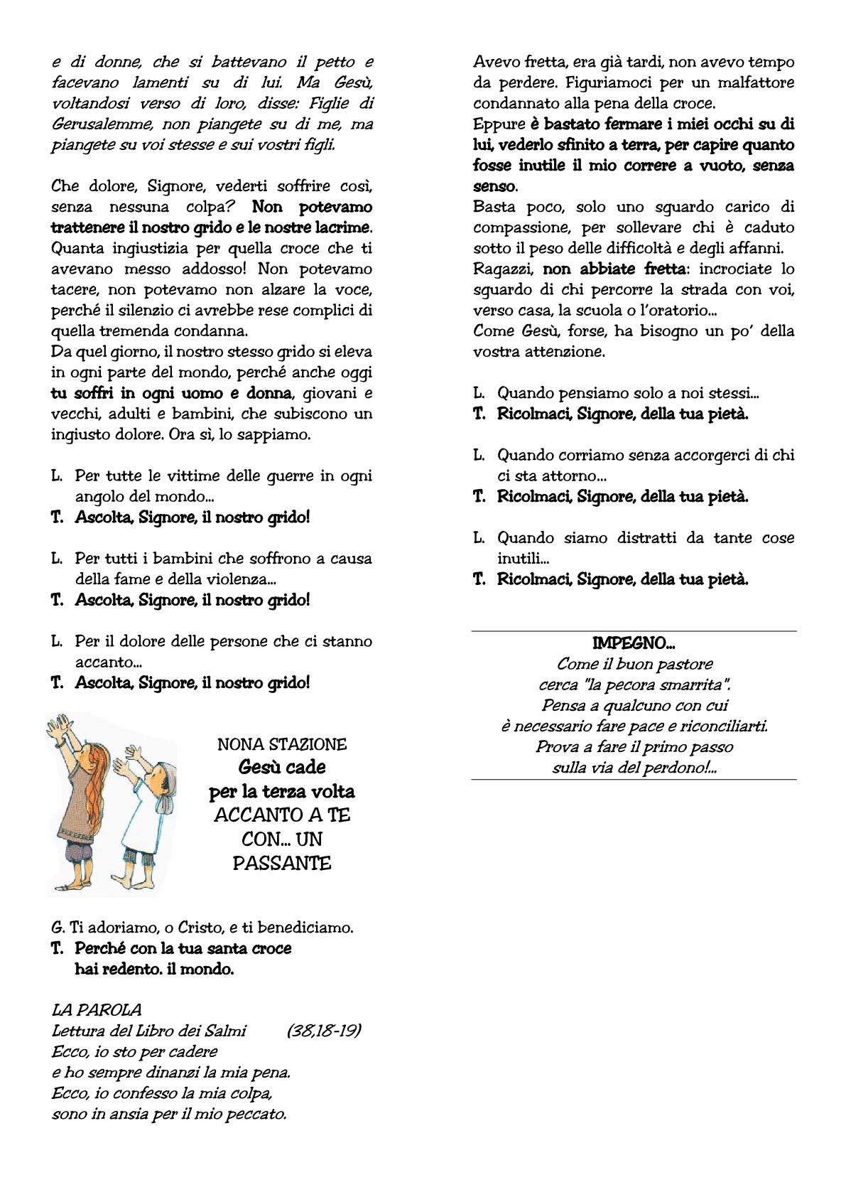 Via Crucis raga III venerdì2