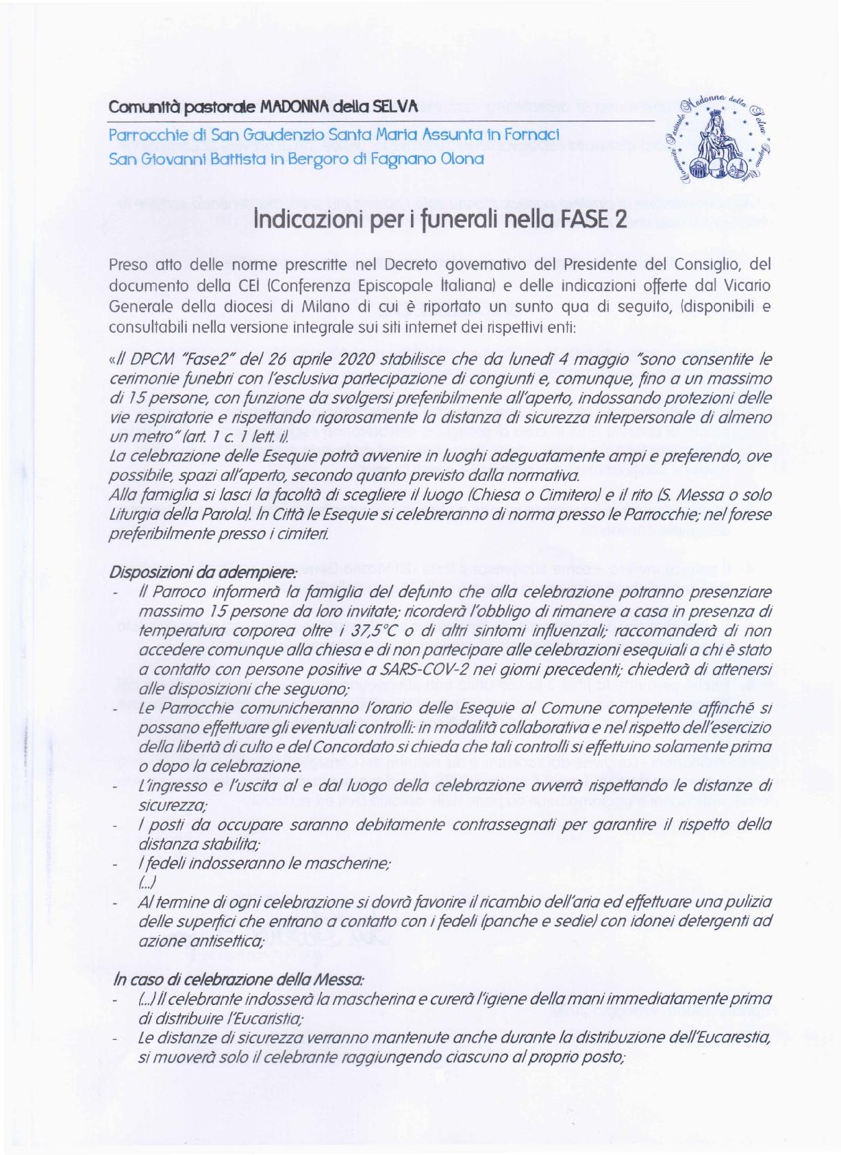 Indicazioni Funerali - fase2 - CP MdS1