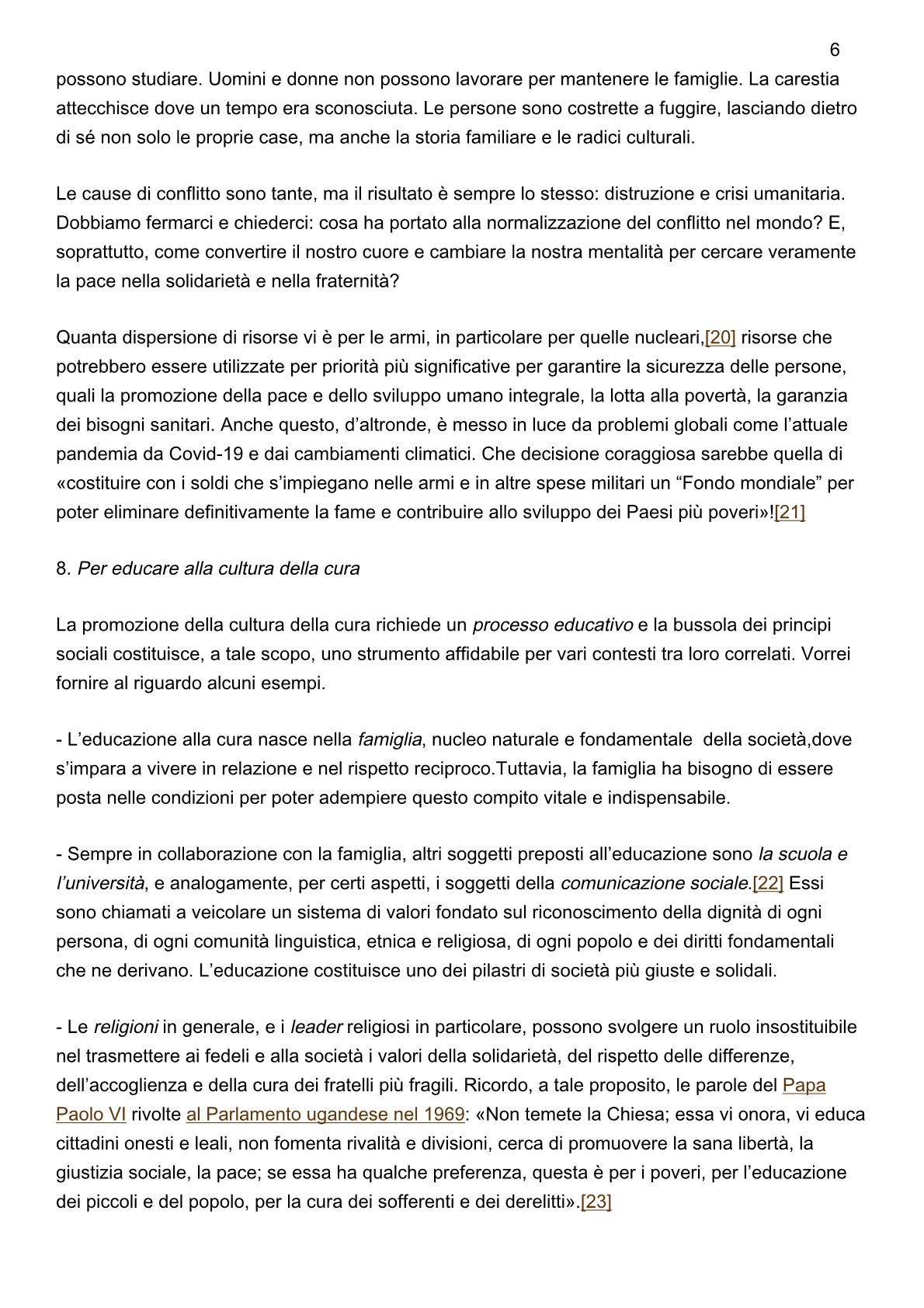papa-francesco_20201208_messaggio-54giornatamondiale-pace20216